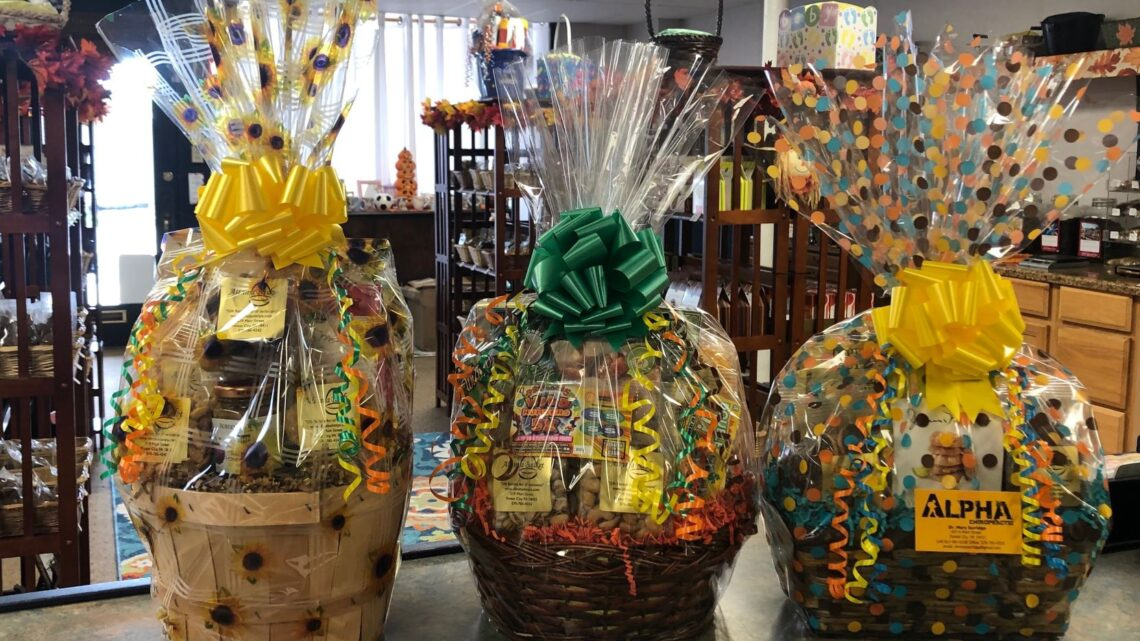 Why do gift hampers bring a smile to the recipient's face?